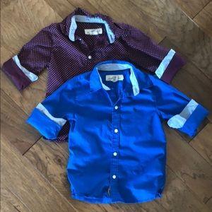 H&M button down shirts (BUNDLE)